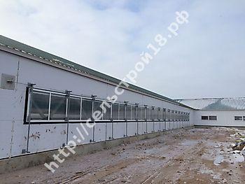 Строительство МТФ на 526 голов с ДМБ и доильным залом Ёлочка 2х14_11