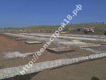 Строительство МТФ на 526 голов с ДМБ и доильным залом Ёлочка 2х14_1