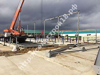 Строительство МТФ на 526 голов с ДМБ и доильным залом Ёлочка 2х14_4